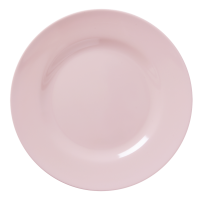 Soft Pink Melamine Dinner Plate by Rice DK